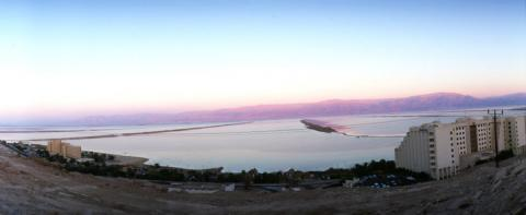 אזור המלונות בים המלח
