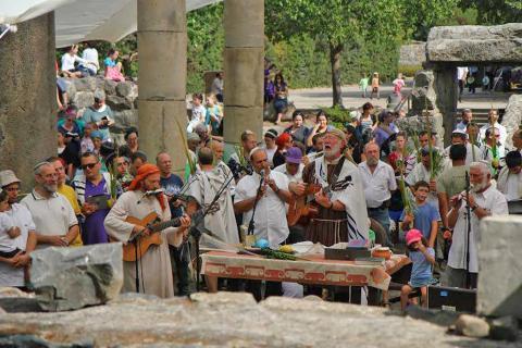 פסטיבל צלילי בזלת בפארק קצרין העתיקה