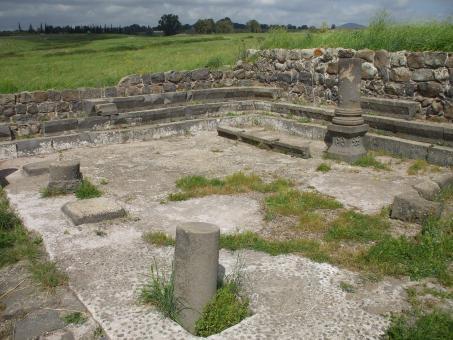 בית הכנסת העתיק עין נשוט ליד קצרין