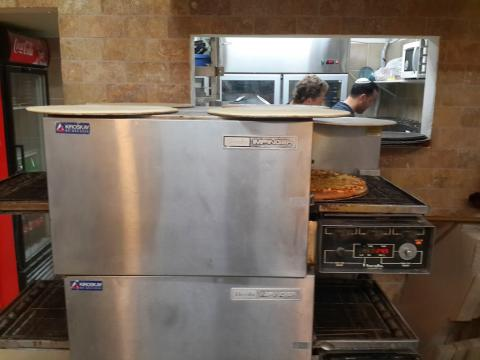 פיצה דון פאפא גדרה - התנור