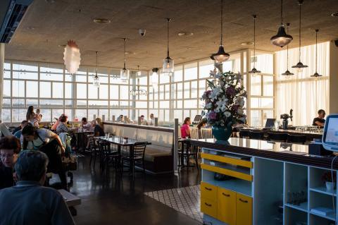 קפית מודיעין - חלל בית הקפה