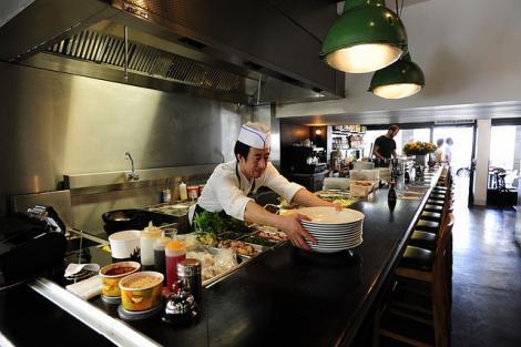 מסעדת ג'ירף נודל בר באבן גבירול תל אביב