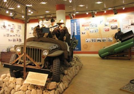 התצוגה במוזיאון אילת עירי
