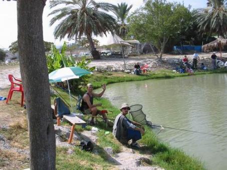 פארק הדייג דג בכפר יוקנעם