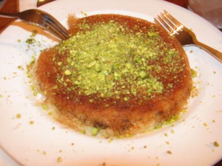 הכנאפה של מסעדת פטוש - חיפה