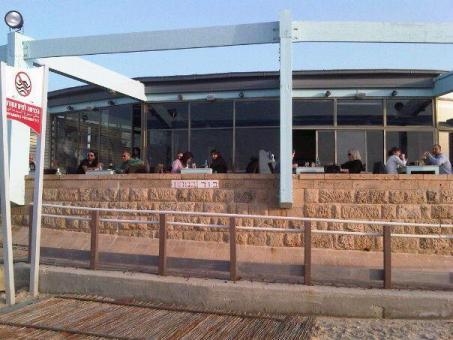 מסעדת מאנטה ריי - מבט מכיוון הים