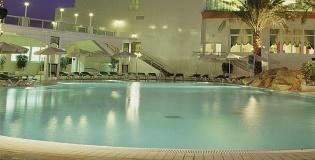 הבריכה במלון דן פנורמה אילת