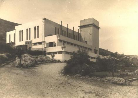 תחנת החשמל הראשונה בחיפה