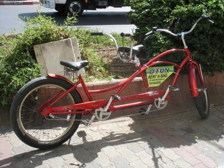 אופן השכרת אופניים בתל אביב