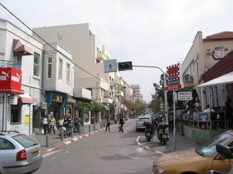 רחוב שינקין בתל אביב