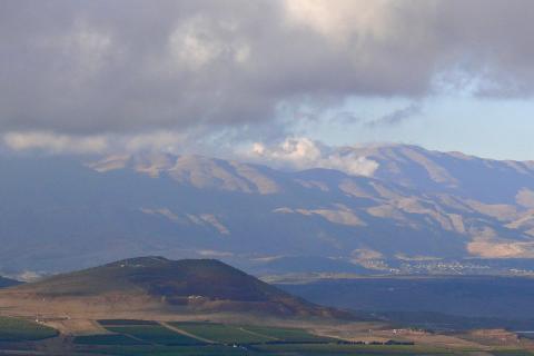 מצפה קוניטרה בהר אביטל והר בנטל