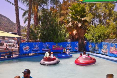 פארק אטרקציות מים לילדים בא לגן בקיבוץ יגור