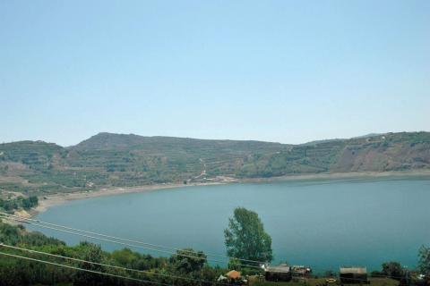 ברכת רם בצפון הגולן למרגלות החרמון