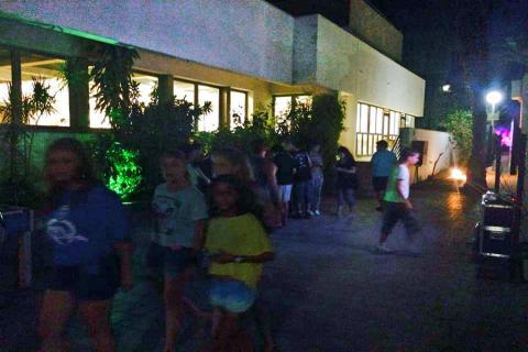 בית ספר שדה אילת קמפינג וחניון לילה