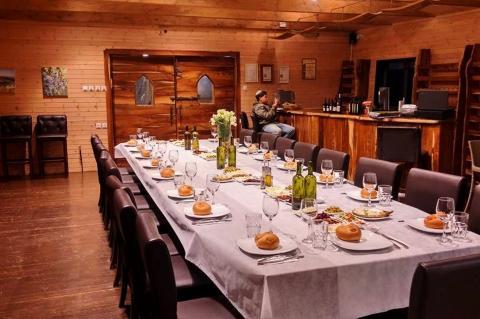 ברכה על ההר מסעדה ומרכז מבקרים ליין