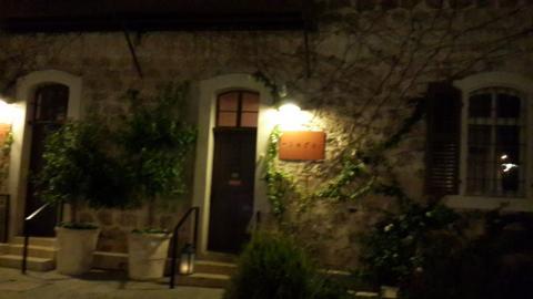 מבנה היקב הטמפלרי של מסעדת קלארו