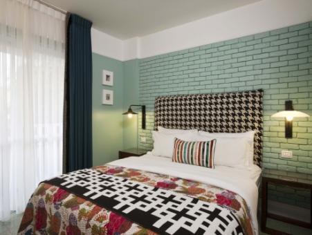חדר במלון סנטר שיק תל אביב