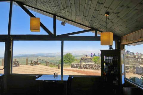 בית קפה קופי ענן Coffee Anan בהר בנטל רמת הגולן