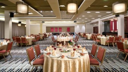 חדר האוכל במלון דן כרמל חיפה