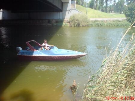 שייט סירות בנחל ירקון