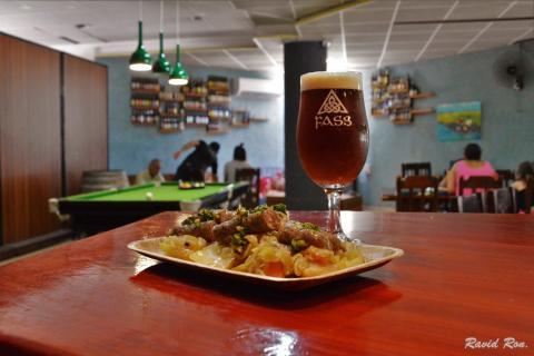 בית הבירה פס מבשלת פאב מסעדה ומרכז מבקרים בקיבוץ גשור רמת הגולן