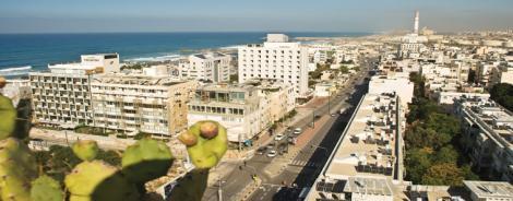 מבט מגג מלון גרנד ביץ' תל אביב