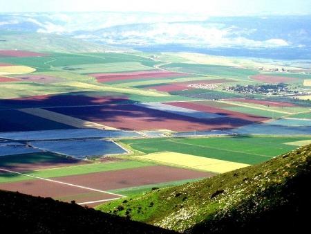 תל יזרעאל - הנוף