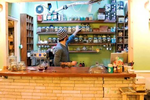 חליטת'ה בית תה ומסעדה ברחוב הלל בירושלים