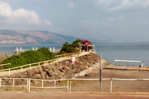 קמפינג חוף האון בכנרת