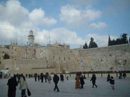 רחבת הכותל המערבי בירושלים