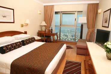 חדר במלון קראון פלאזה חיפה