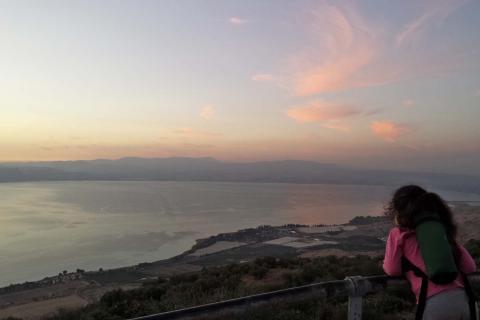 הנוף ממצפה השלום