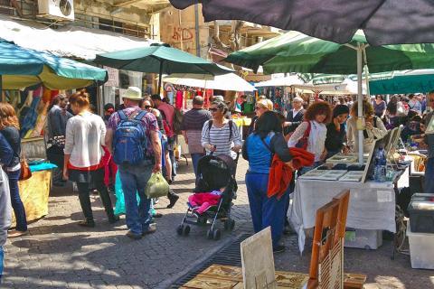 פסטיבל איור וקומיקס בנחלת בנימין תל אביב