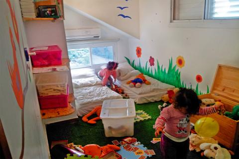 צימר לילדים עם חדר משחקים לדתיים בגליל