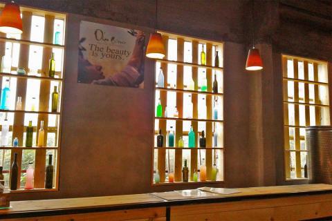 מרכז המבקרים השני של בית הבד של הגולן Olea Essence בנמל עין גב