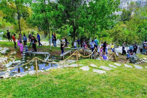 הגן הבוטני חינם בפסח בירושלים
