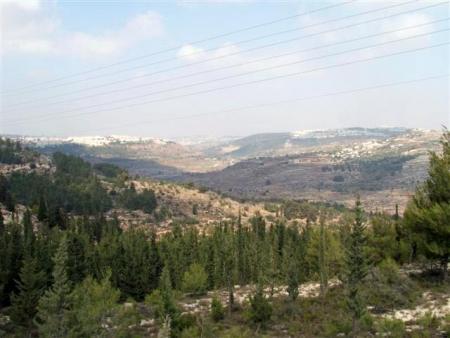 טיול אופניים בהרי ירושלים