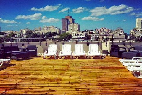 הגג מלון דירות רוק 130 תל אביב