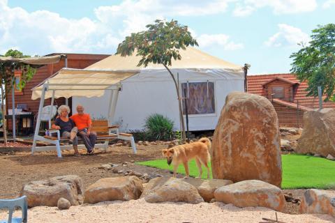 צימר רוגעלך אוהל מונגולי בגולן