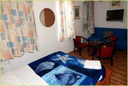 חדר במלונית בית אביטל בירושלים