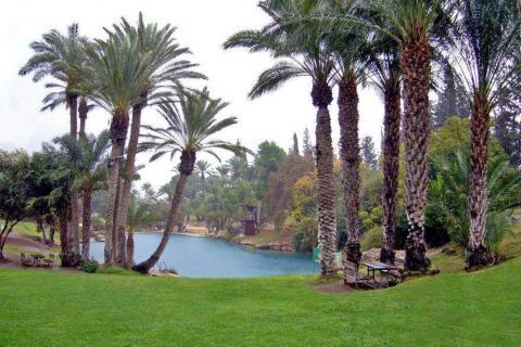 גן השלושה - סחנה