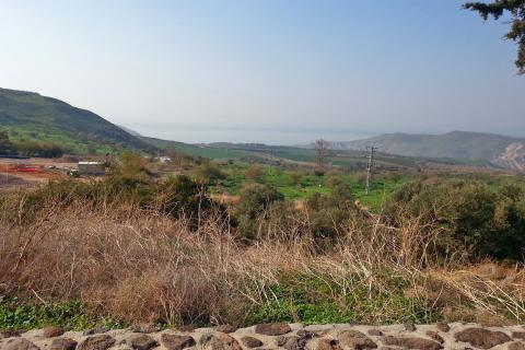 חניון ותצפית מי גהה ברמת הגולן