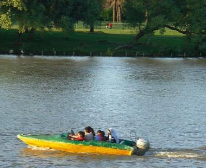 סירות בפארק הירקון