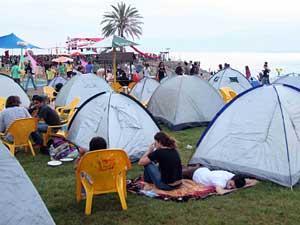 קמפינג חוף צמח