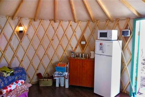 צימר יורט אוהלים מונגולים בגולן