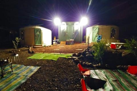 צימר יורט אוהל מונגולי בקלע אלון רמת הגולן