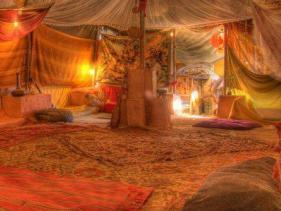 אוהל גדול הבית של מטי ורוני מצפה רמון