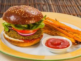 המבורגר טבעוני מסעדת נגילה ירושלים