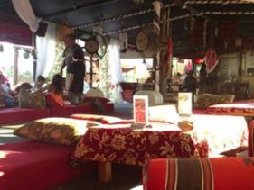 מסעדת טאג' מאהל בים המלח