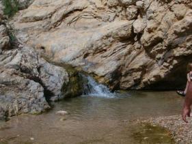 בריכת המים בעין בוקק